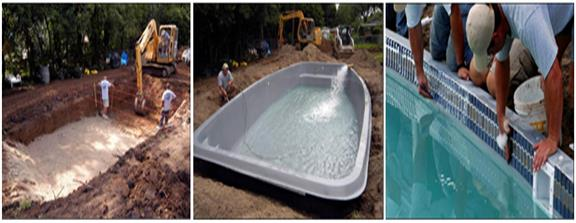 San Juan Pools - Acadiana Pools fiberglass swimming pools