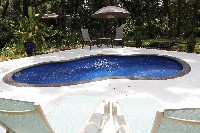 Crystal Cove Fiberglass Pool in Buckhorn, NM